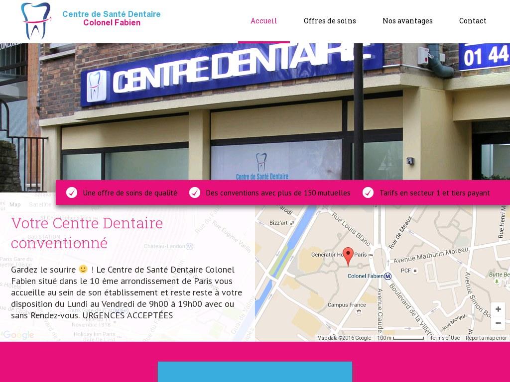 Centre Dentaire Colonel Fabien