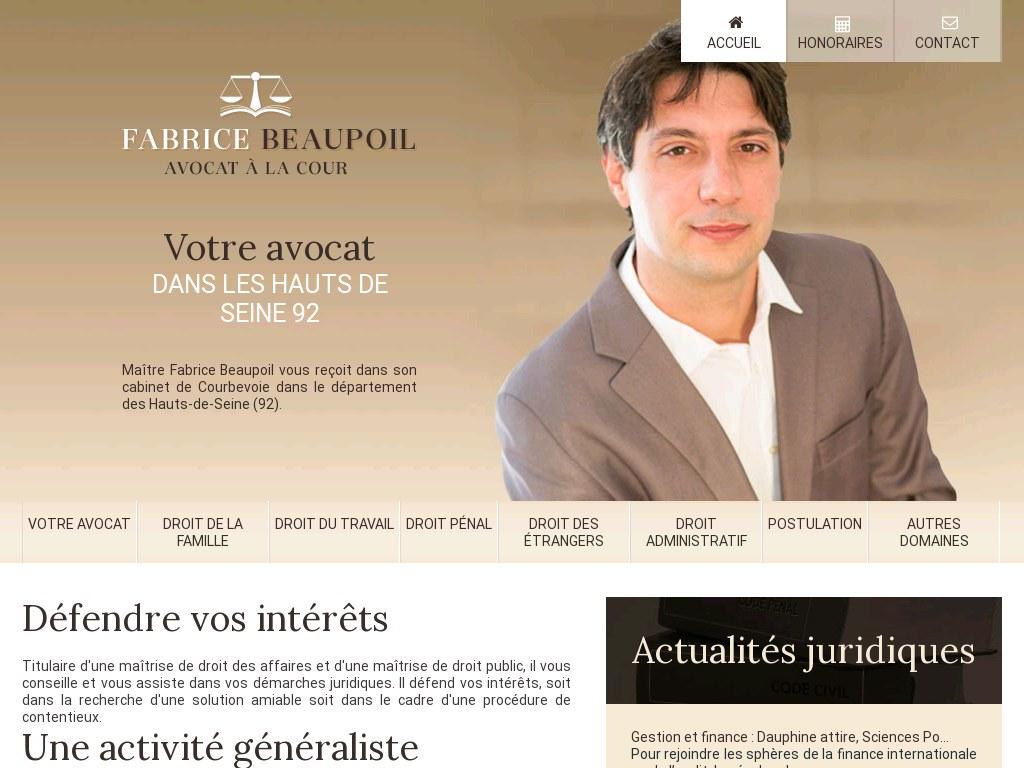 Avocat Beaupoil
